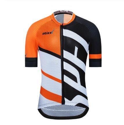 etixx Summer 2019 Cycling Jersey Tops Racing Cycling Clothing Ropa Ciclismo Short Sleeve mtb Bike Jersey Shirt Maillot Ciclismo