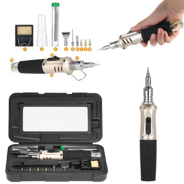 Kit di punte per saldatore a temperatura elettrica Saldatore a saldare Punta a punta dell'ago Strumento di riparazione della matita