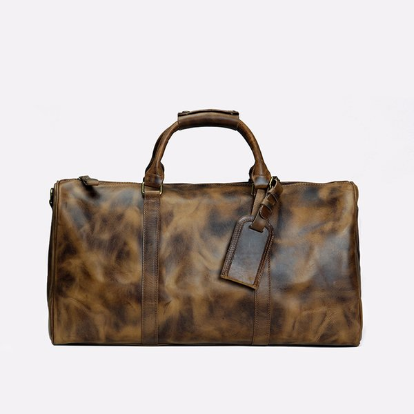 2019 duffle bag women travel bags hand luggage designer travel bag men pu leather handbags large cross body bag totes 55cm
