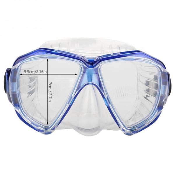 Maschera subacquea professionale antigas di unisex della maschera di immersione subacquea di Mergulho Occhiali di protezione subacquea per i vetri di nuoto del mare Maschera di immersione subacquea