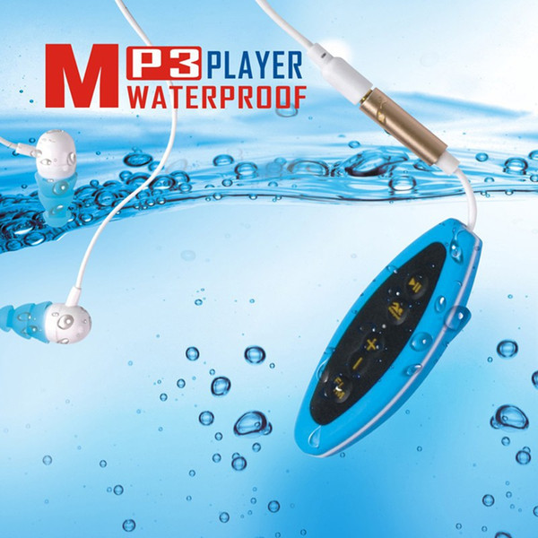 Portable 4GB MP3 Player Waterproof Music Player for Swimming Underwater Diving with Headset mp3 Device