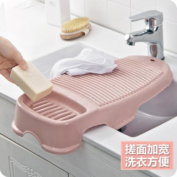 Frottez la planche à repasser Vêtements de linge de maison Planche de lavage antidérapante Pénalité À genoux Originalité Dortoir Plastique Buanderie Planche à laver