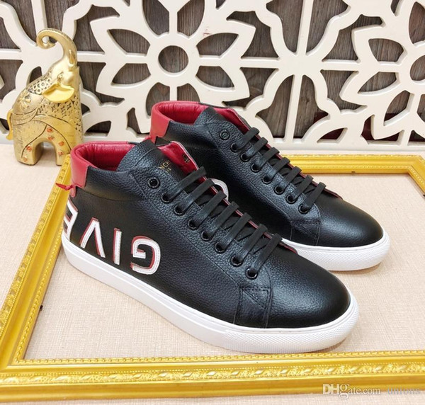 Luxury popular fashion with box men's or womens gifts shoes gi10 sneakers sandals sneaker gggivenchy