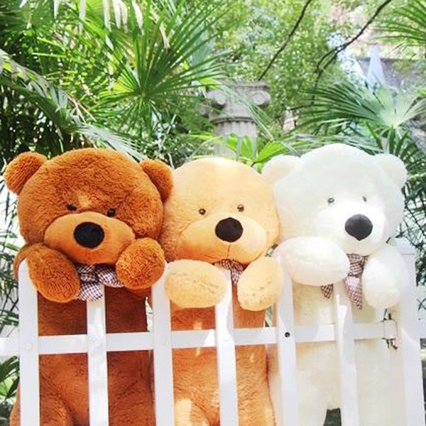 High quality Low price Plush toys large size80cm / teddy bear 80cm/big embrace bear doll /lovers/christmas gifts