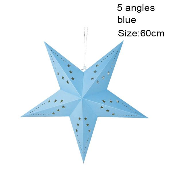 5 angles 60cm bleu