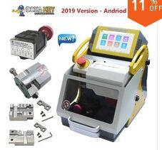 100% Original 2019 4 Clamp Auto SEC-E9 Key Cutting Machine Auto Programmer All Cars SEC-E9 Key Cutting Machine Silca Key Machine 2019 New