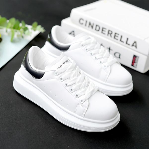 2019 printemps et en automne Nouveau Designer Wedges Chaussures Femme Blanc Plate-forme Sneakers femmes Tenis Feminino Chaussures Femmes Casual femme