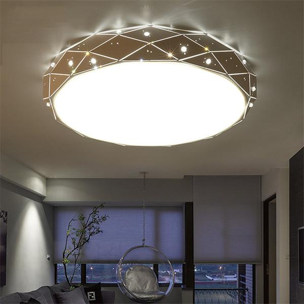 Großhandel Moderne Led Deckenleuchten Diamond Star Moon Deckenleuchte Beleuchtung Dekor Hängende Lampen Schlafzimmer Wohnzimmer Hotel Küche Leuchten