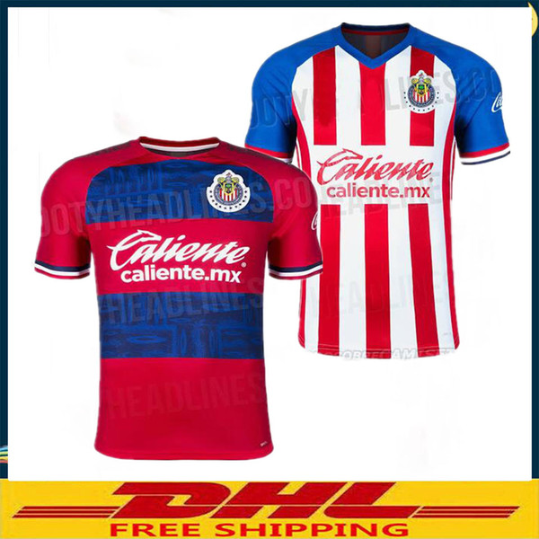 best selling DHL free shipping the best quality 2019 2020 Chivas Jerseys 19 20 America Jerseys spot welcome order size can be mixed bat