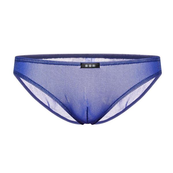 Sexy Gay Underwear Men Briefs Shorts Homme Shiny Elastic Convex Pouch Low Waist Panties Male Underpants Calzoncillos Cueca