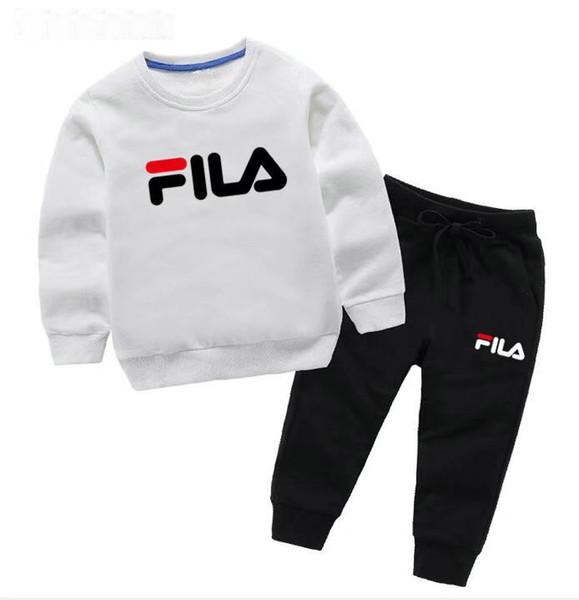 2019 Новая дешевая мода Детская одежда Luxury baby 2-7T мальчиков и девочек Спортивная руб