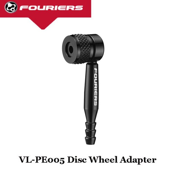 FOURIERS bike Valve Disc wheel 90 degree adapter Black fix presta valve rim #312055