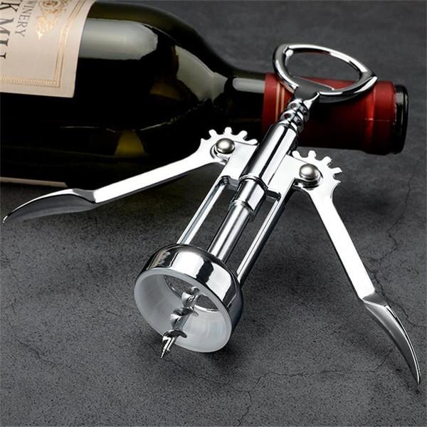 2 в 1 цинковый сплав вино крылатые штопоры открывалка для бутылок пива для дома кухня ресторан бар инструменты серебро