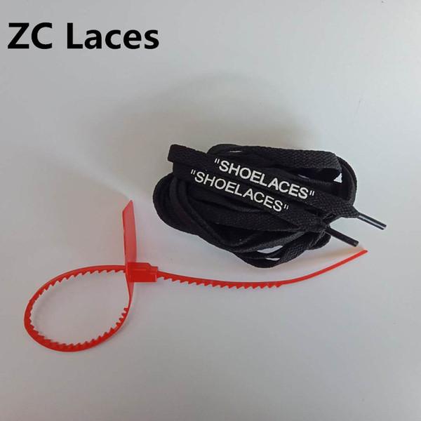Negro con cremalleras rojas 160cm