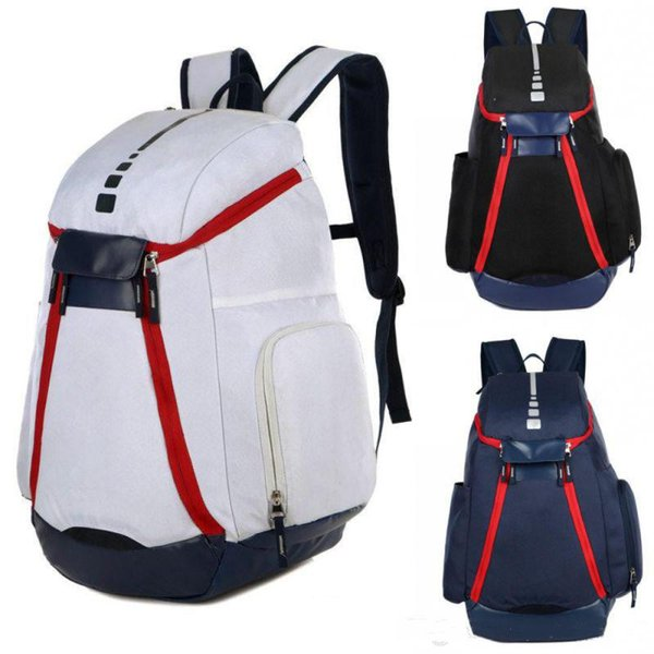 New USA National Team Backpack The Olympic Mens Womens Designer Bags Teenager Black White Blue Outdoor Basketball Backpack 3 Colour