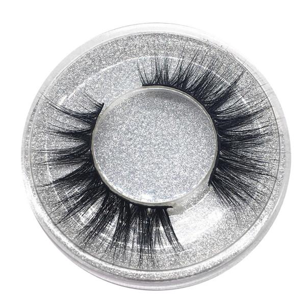 1Pairs Support wholesale&single Natural Bushy Makeup Cross False Eyelashes Eye Lashes Black Soft Natural False Eyelashes