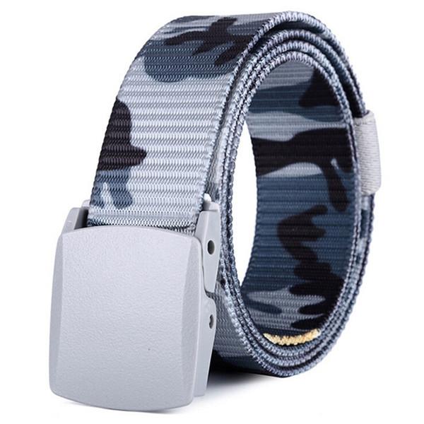 Cintura di nylon tattica militare unisex alla moda da combattimento Fibbia in vita Cintura sportiva arrampicata sportiva # 366198