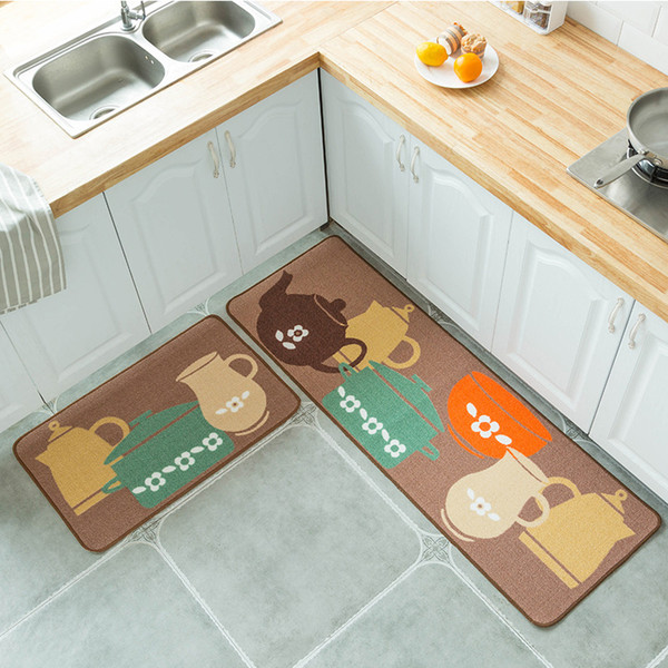 Creative Europe Polyester Kitchen Mats Hallway Doormat Non Slip Bathroom  Carpet Absorb Water Kitchen Decoration Mat/Rug Rugs Online Carpets Online  ...