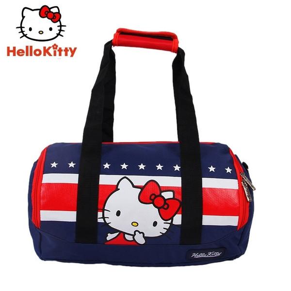 Hello Kitty Sports Bags women Girl New Cute Running Bag Outdoor Sport bag H64531 #234840
