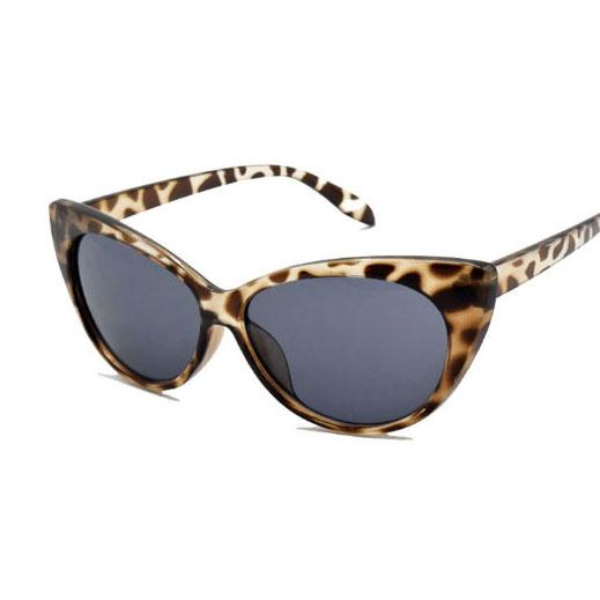 White leopard frame gray piece