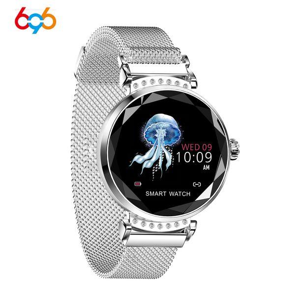 696 H8/H2/H1 Smart Watch Bracelet Heart Rate Blood Pressure Watch Pedometer Waterproof Fitness Activity Tracker Women Bracelet