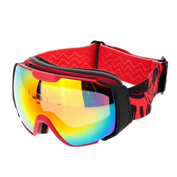 Double Lens Anti-fog Windproof with Anti-fog UV Protection Skiing Skating Goggles for Youth Snowmobile Skiing Skating mask