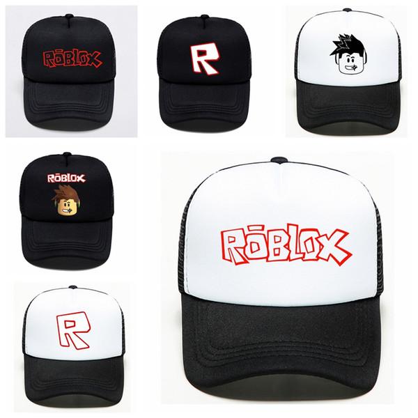 2019 игра Roblox мультфильм дети вс бейсболки шляпа хип-хоп шляпы мальчик девочка игрушка действия для детей подарок на день рождения любители сувениры