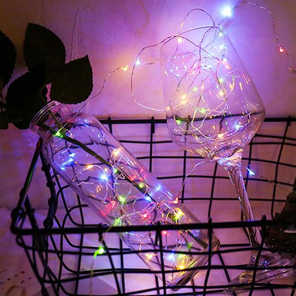 Led Fairy Light Solar For Mason Jar Lid Insert Color Changing Garden Decor 2019 Hot Sale Christmas Lights Outdoor Wedding Decor Led Spot Lights Led