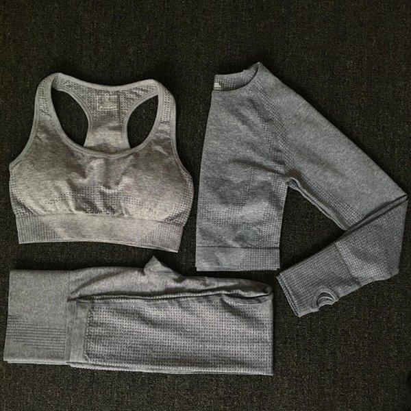 Conjunto azul gris 3 piezas