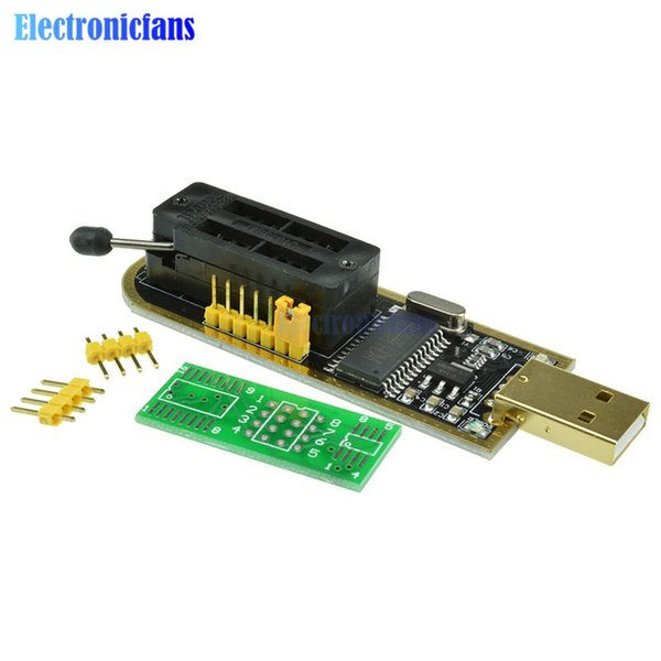 2019 Automatic Identification! USB Programmer CH341A Series 24 EEPROM  Writer 25 SPI Flash BIOS Board Module USB To TTL 5V 3 3V From Sbxiang,  &Price
