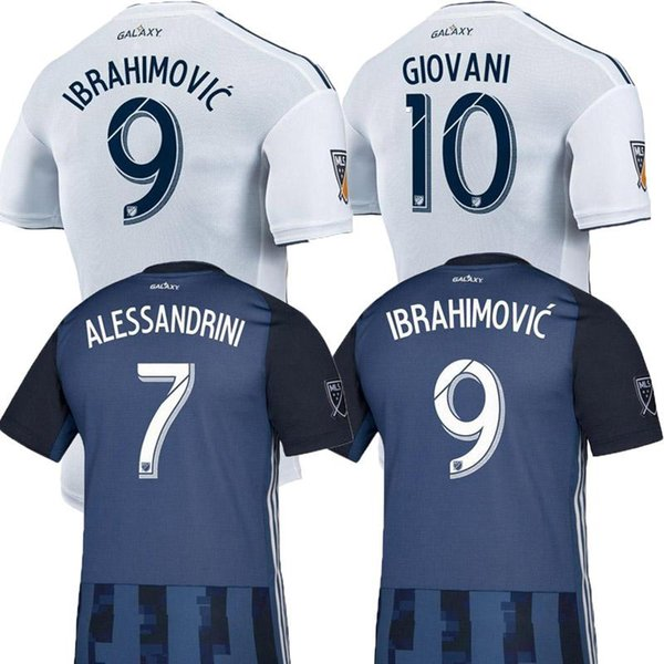 NEW 19 20 IBRAHIMOVIC LA Galaxy jersey soccer Thailand Los Angeles Galaxy GIOVANI COLE ALESSANDRINI CORONA football kit top shirts 2019 2020