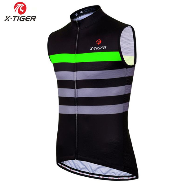 best selling X-Tiger Sleeveless Cycling Vest Summer Racing Bicycle Clothing 100% Polyester Bike Clothes Hombre Maillot Roupa Ciclismo