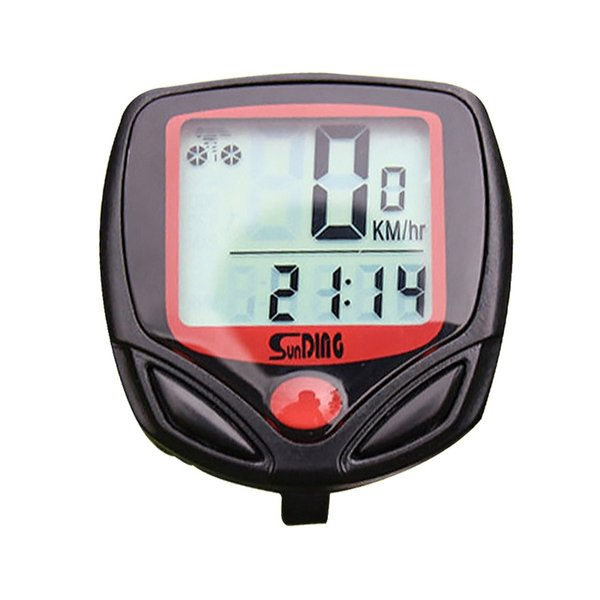 Bike Speedometer Wireless MTB Bicycle Computer Odometer Speed Sensor Cycle Computer Mount on Handlebar Bicycle Accessories #106460