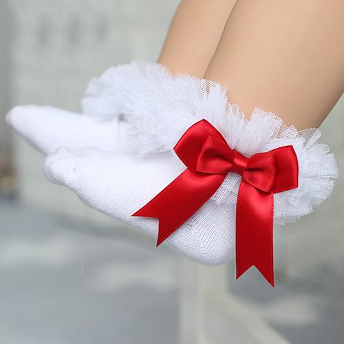 White+Red Bow