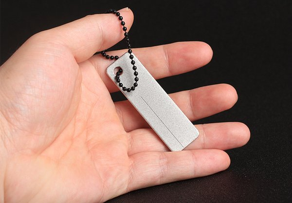 Superduro bolsillo diamante Sacapuntas Sacapuntas EDC para herramientas al aire libre cuchillo de pescado gancho uña Herramientas EDC
