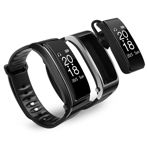 For iphone samsung smartphones y3 smart watch bracelet talk band 2 in 1 bluetooth headphones headset Heart Rate Monitor