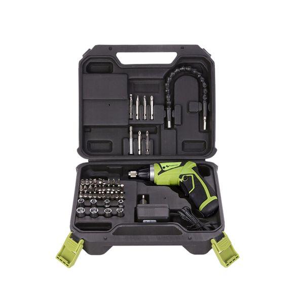 HLZS-chave de fenda recarregável com bateria de lítio 7.2V chave de fenda elétrica do agregado familiar com Twistable Handle / Us Plug