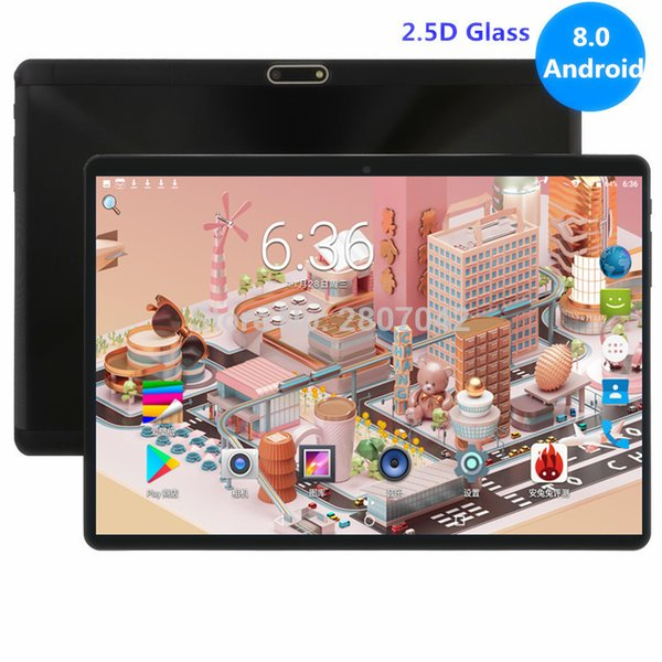 2019 Nuovo Google tablet Android 8.0 OS 10 pollici 4G LTE FDD Octa core 4GB di RAM 64 GB ROM 1280 * 800 IPS regalo Bambini Compresse 10 10.1