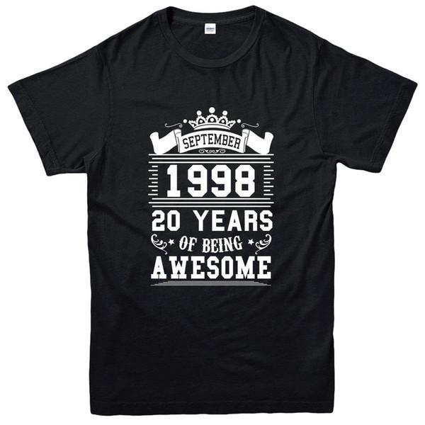 Vingt ans de t-shirt génial, septembre 1998 Tee-shirt inspiré