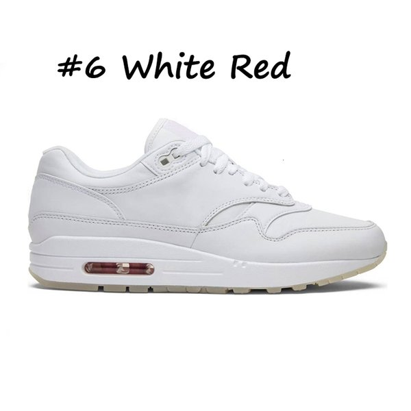 6 White Red
