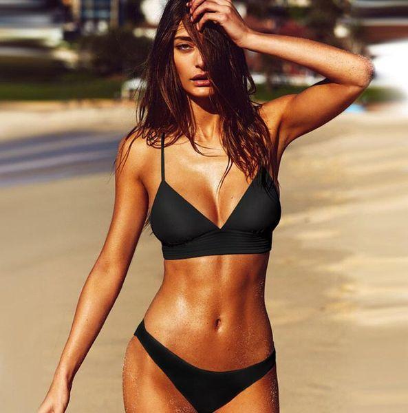 black sexy bikini