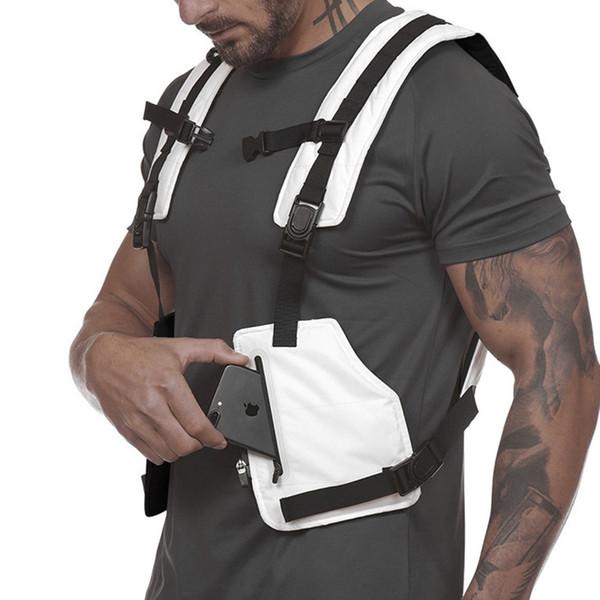 Gilet tattico stile militare gilet riflettente notte lavoro abbigliamento protettivo gilet allenamento all'aperto ciclismo