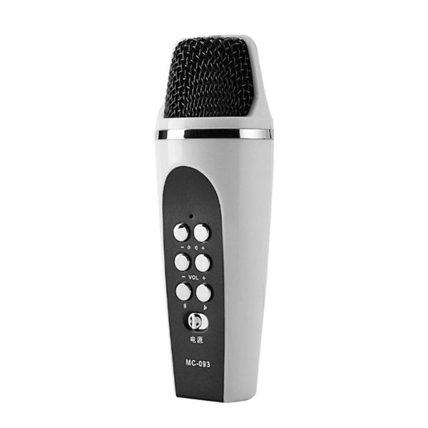 Multifunction K Song Live Broadcast 4 Modes Smartphone Cellphone Voice Changer Microphone with Earphones Voice Free Switching