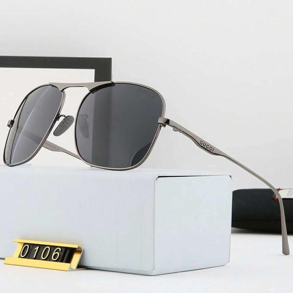 Luxus Sonnenbrillen Marke Sonnenbrillen Designer Sonnenbrillen für Herren Polarisierende Stilvolle Glas UV400 5 Stil mit Box Neu Kommen