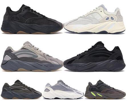 kanye west 700 v2 wave runner inertia tephra solid grey utility black vanta running shoes men designer shoes women static sneakers eur 36-45