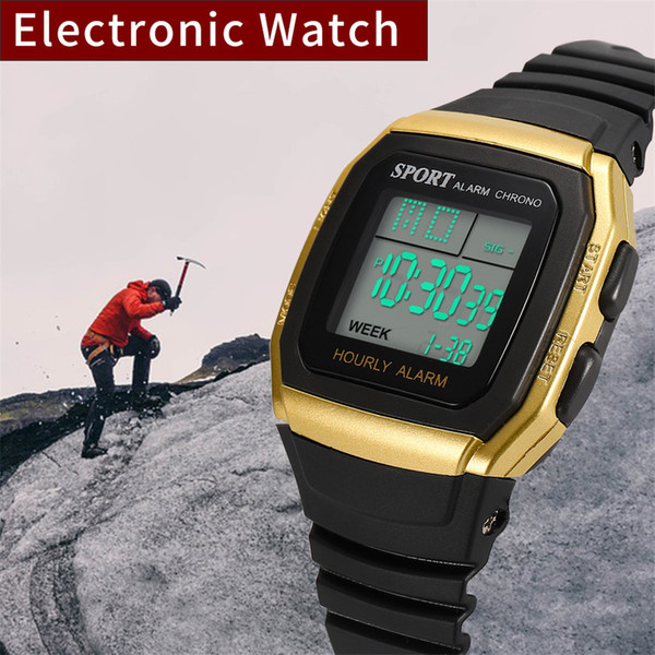 Fashion High-End Multi-Function 30M Sports Waterproof Electronic Watch Men Watch Top Sport Watches