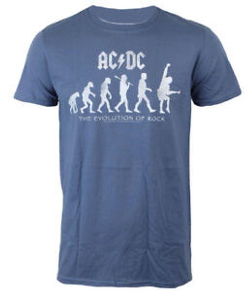 Официальная футболка AC / Print Эволюция RoPrint Ангус Янг Австралийская RoPrint ACPrint