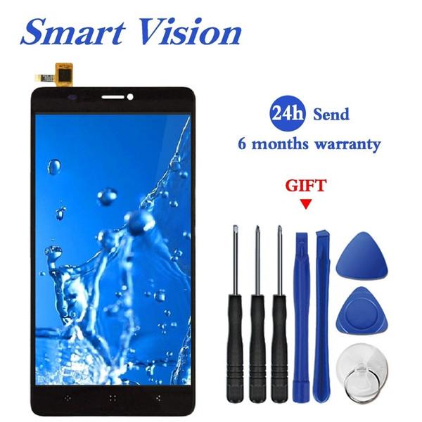 Elephone C1 MAX için LCD Ekran Dokunmatik Ekran Paneli Sayısallaştırıcı Değiştirme Elephone C1 MAX 6.0 inç Smartphone