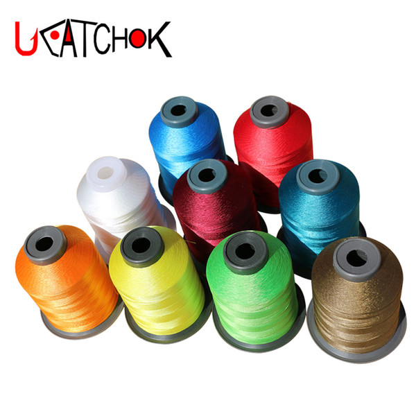 1spool/pack NOP Polyester Yarn 1500M 210D professional Rod Winding Thread Rod DIY Repair Refit Guide Ring Fasten Wrapping Line