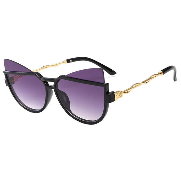Новые детские солнцезащитные очки мода детские солнцезащитные очки Cat Eye ультрафиолетовые солнцезащитные очки для девочек солнцезащитные очки для мальчиков детские аксессуары A7329